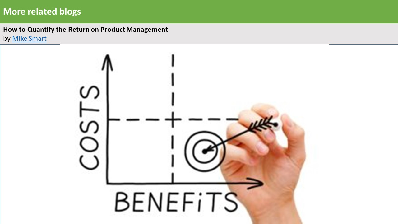 How to Quantify the Return on Product Management