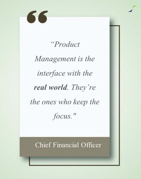 Product management - CFO view